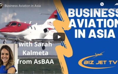 Business Aviation in Asia Interview with Sarah Kalmeta