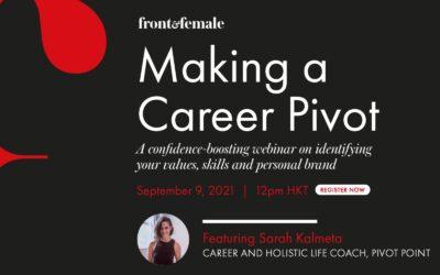 Tatler Front & Female - Making a Career Pivot